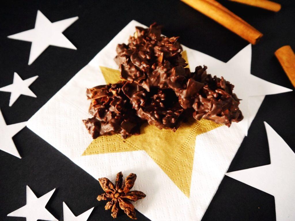 Granola Kekse: Christmas Granola Crunchy                ✶ Einfach und lecker: Christmas Granola Crunchy                ✶                ✶