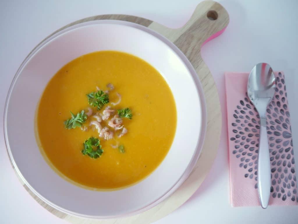 Der Herbst ist da: Rezept für eine Butternut-Kürbis Suppe