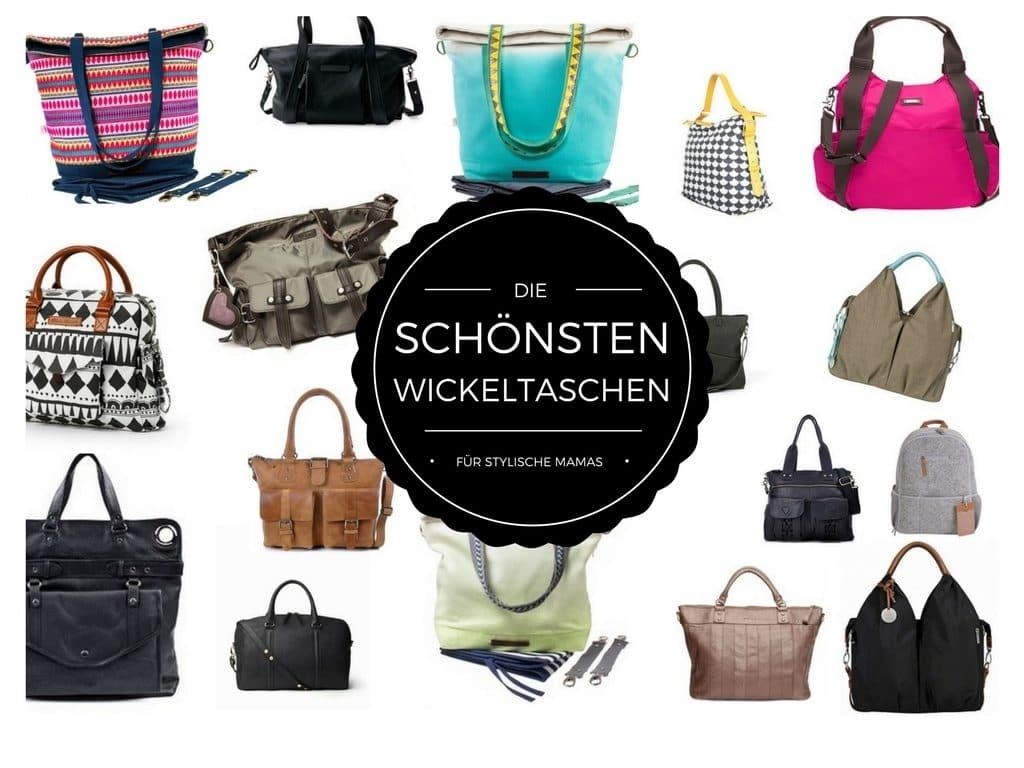 Die schönsten Wickeltaschen: Hübsch unterwegs mit Baby