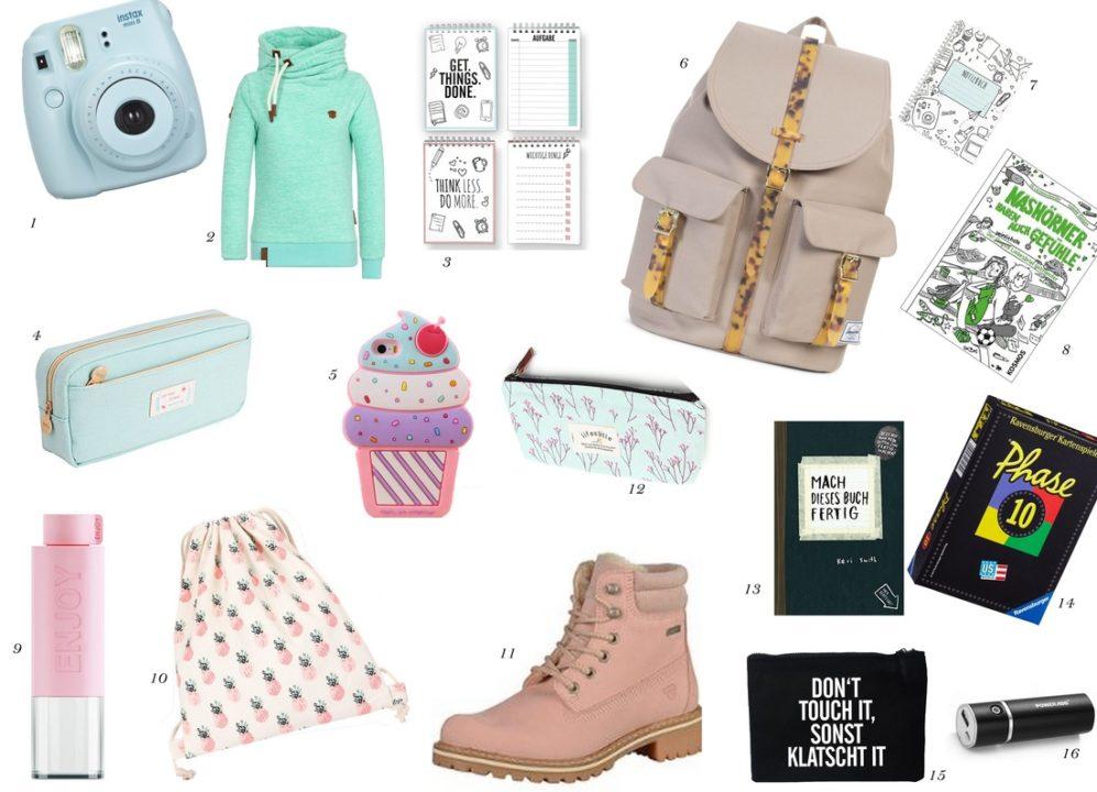 Geschenke Teenager - Wishlist für die Teenie-Party // Geschenkideen ...