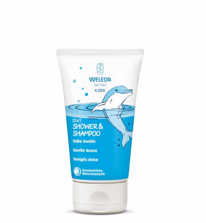 Weleda Kids 2in1 Shower&Shampoo Vanille