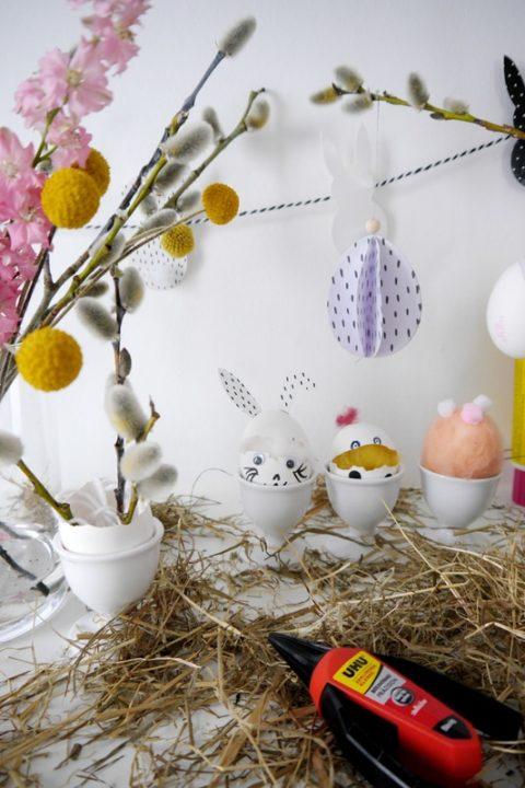 basteln mit eierschalen florales diy kleine tierparade. Black Bedroom Furniture Sets. Home Design Ideas
