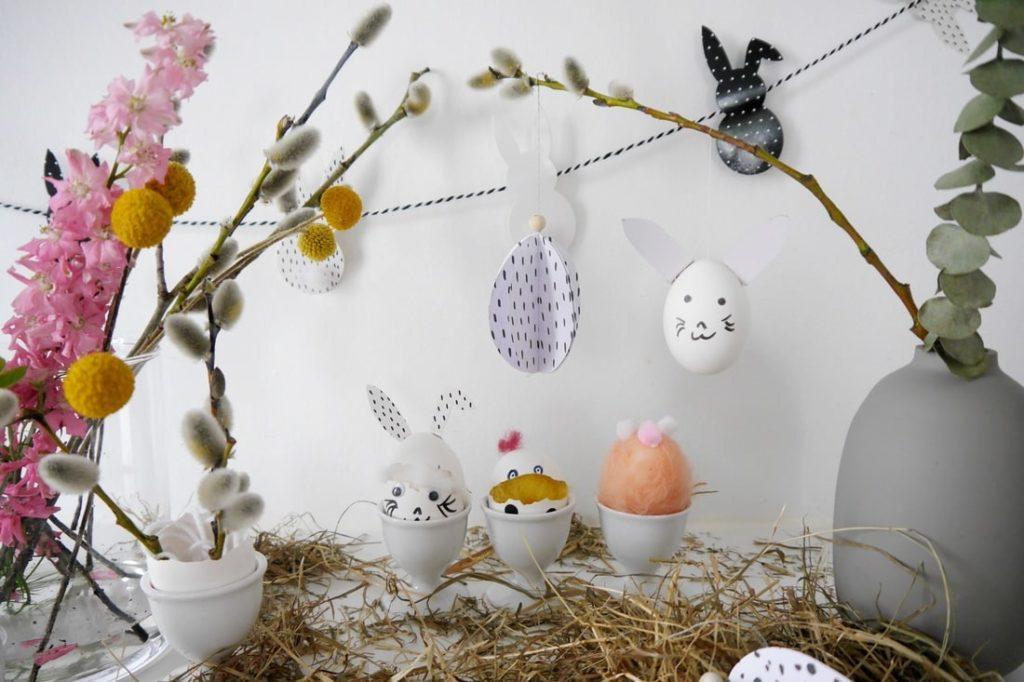 Basteln mit Eierschalen – florales DIY & kleine Tierparade