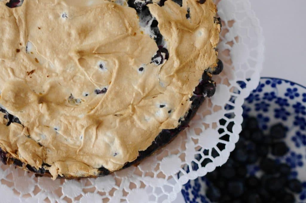 Rezept Blaubeerkuchen mit Baiser – ein Träumchen!