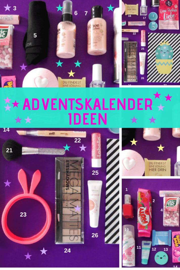 adventskalender teenager ideen