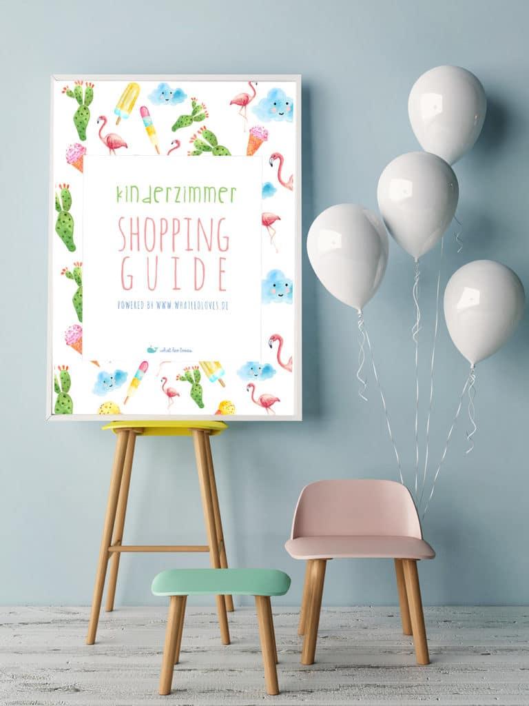 Kinderzimmer Shopping Guide: Traumkinderzimmer einrichten