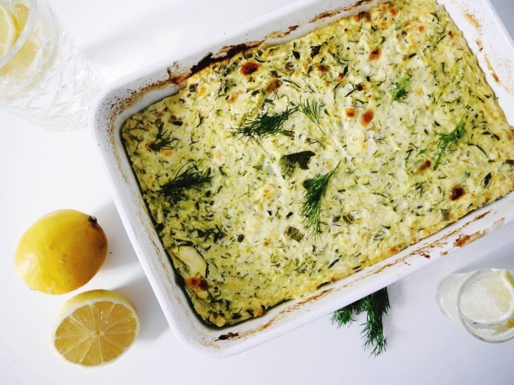 Zuckerfrei leben == Abendessen == Zucchini Käsekuchen