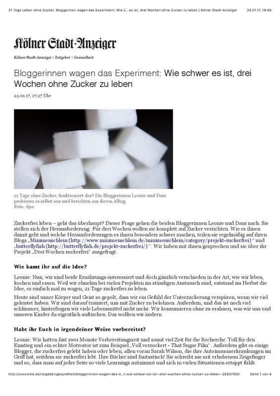 MiniMenschlein Kölner Stadtanzeiger