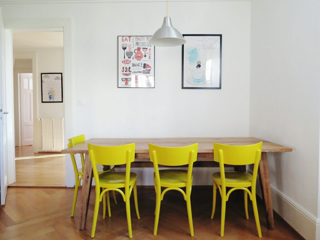 Kreatives Leben in Lausanne: Homestory bei Béa