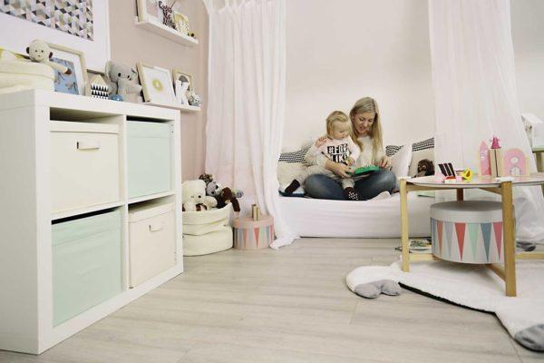 Kinderzimmer m dchen deko und einrichtungsideen for Aufbewahrungsideen kinderzimmer