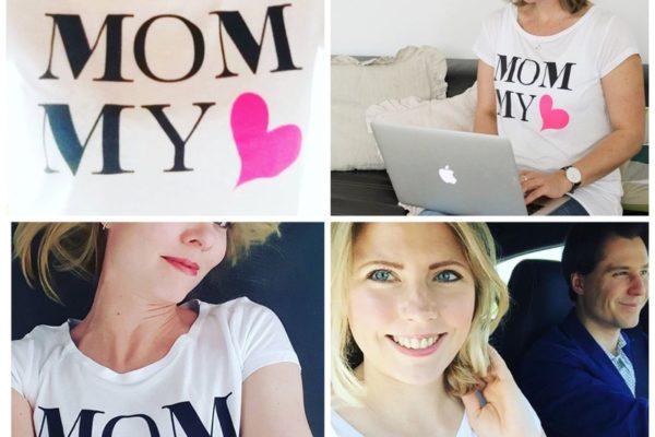 """""""Eure #MommyMoments mit dem MiniMenschlein-Shirt """" ist gesperrt Eure #MommyMoments mit dem MiniMenschlein-Shirt"""