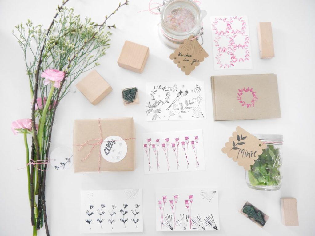 #DIY mit Studio Karamelo: Geschenke einfach stempeln