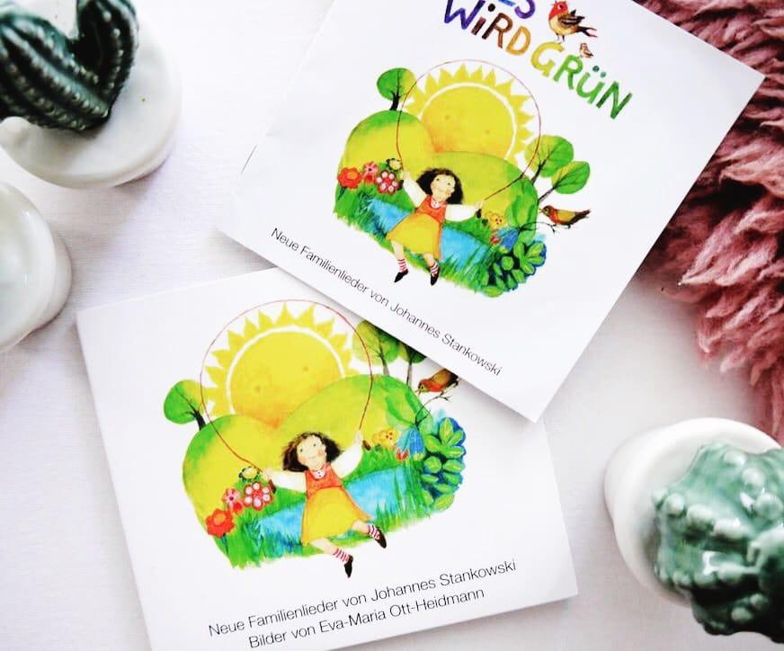 Alles wird grün: Eine sagenhafte Kinder-CD