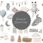 Die schönsten Geschenke zur Geburt & Taufe