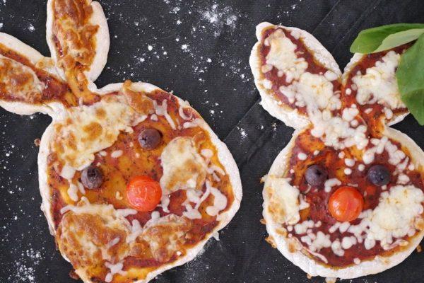 Kinderpizza Hase: Einfach und schnell