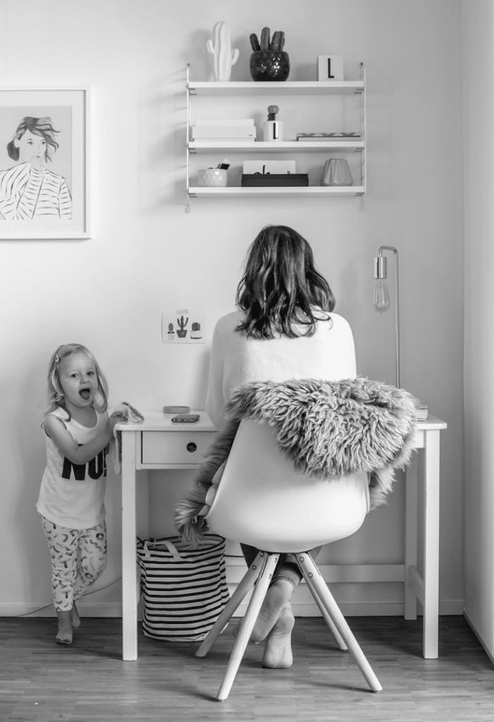 Mama im Homeoffice: Immer da und trotzdem bei der Arbeit