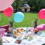 Sonne satt: Picknick-Sause am Nachmittag