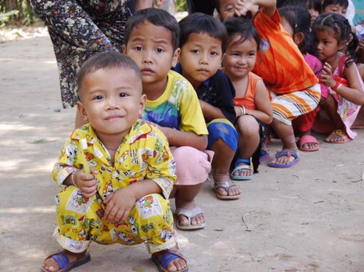 MiniMenschlein in Kambodscha