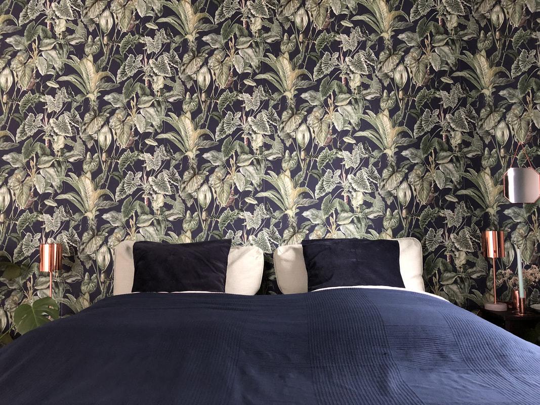 Schlafzimmer MakeOver: Umstyling ohne Möbel mit Erismann Tapeten