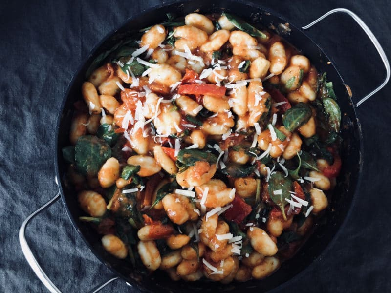 gnocchi rezept tomaten babyspinat