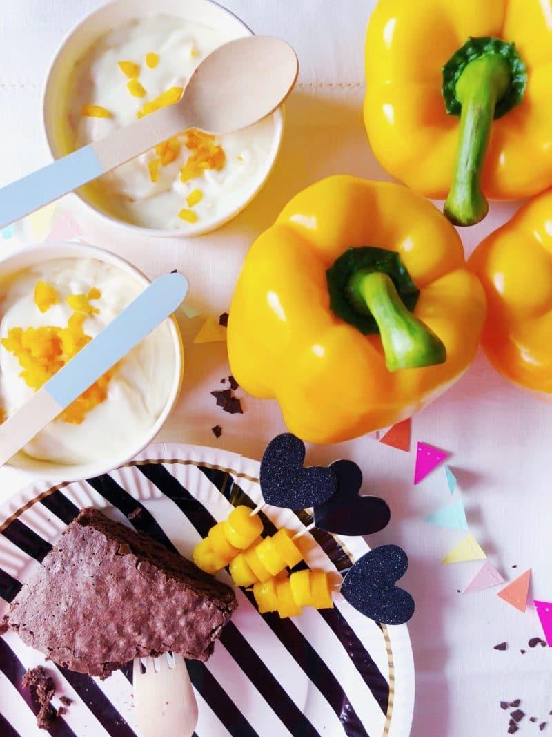 paprika dessert mousse