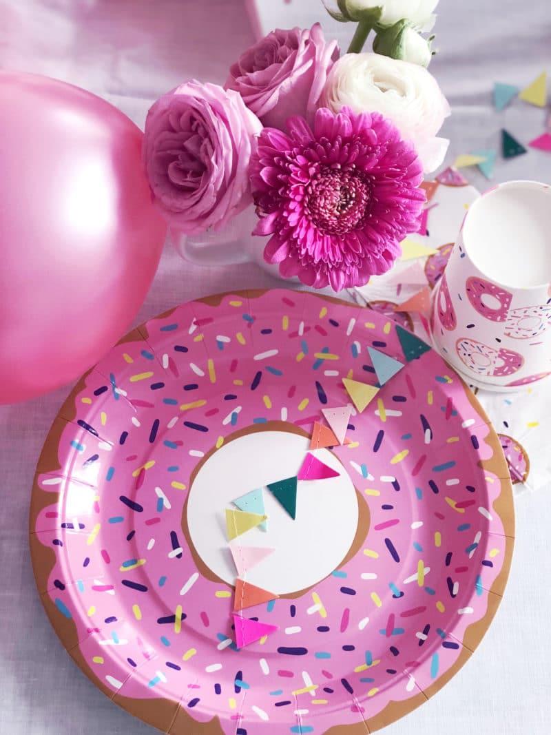 donut party deko