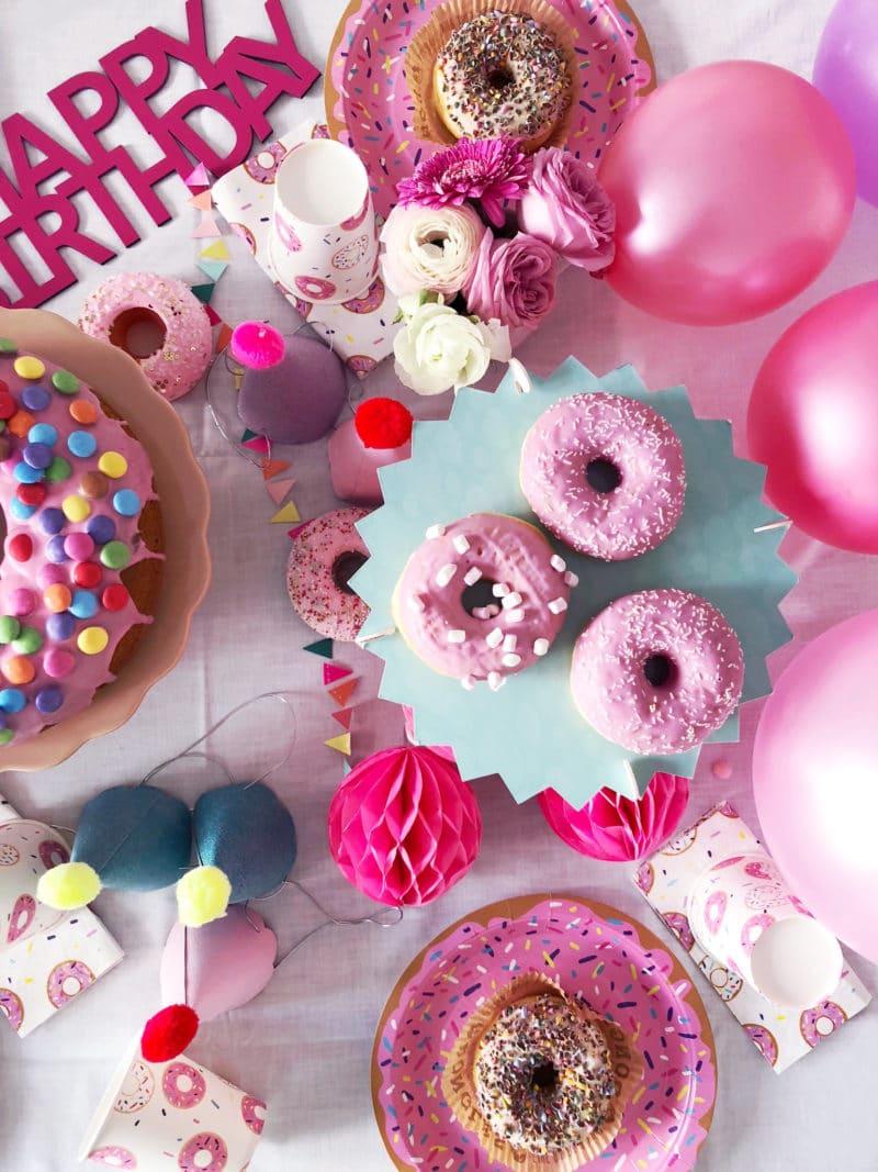 donutparty feiern