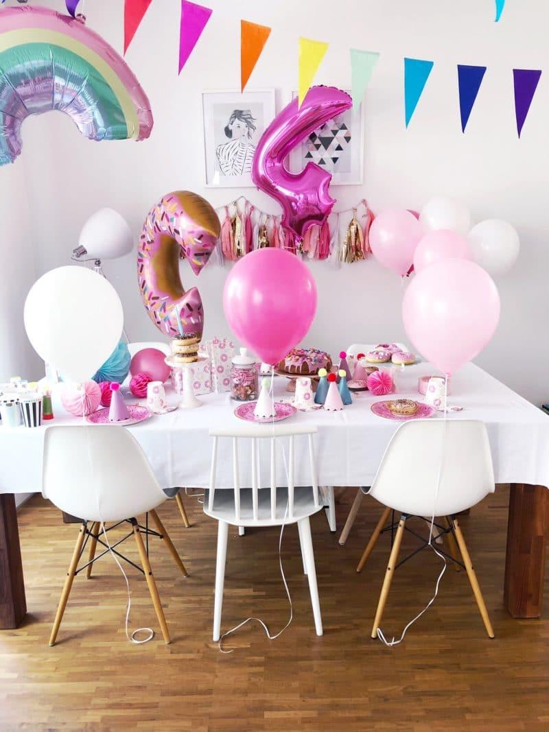 4 geburtstag feiern spiele und deko ideen f r den kindergeburtstag. Black Bedroom Furniture Sets. Home Design Ideas