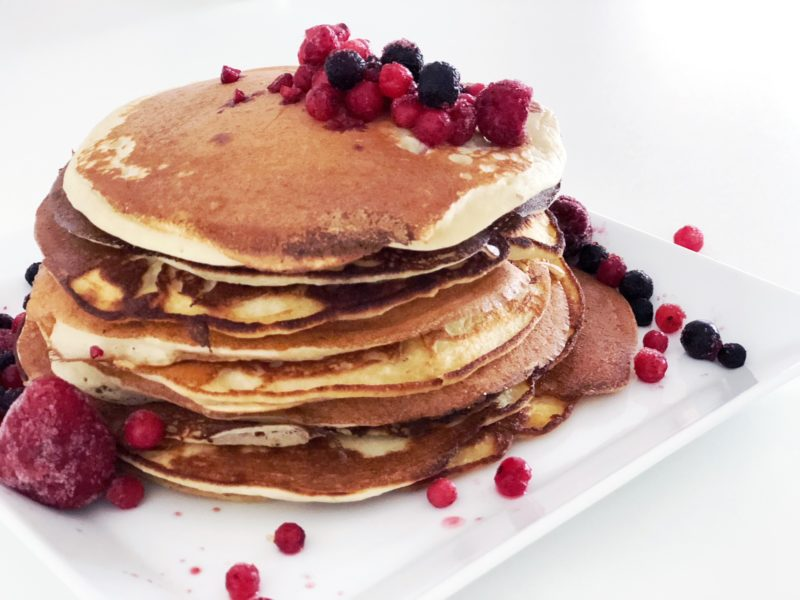 Low Carb Pancakes Rezept mit Mandelmehl