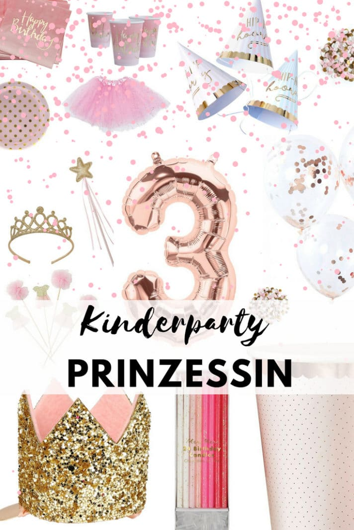 Kinderparty prinzessin