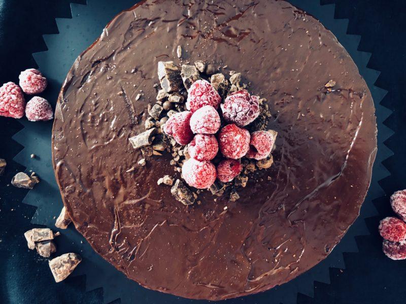 Rote Beete Kuchen mit Schokolade