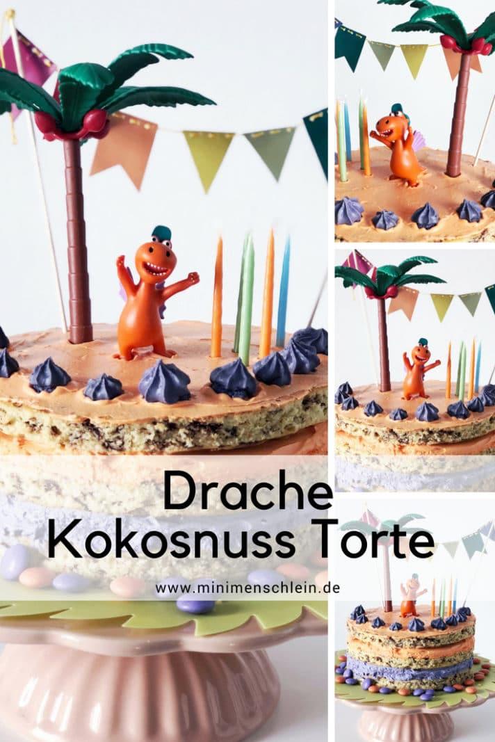 drache kokosnuss kuchen rezept