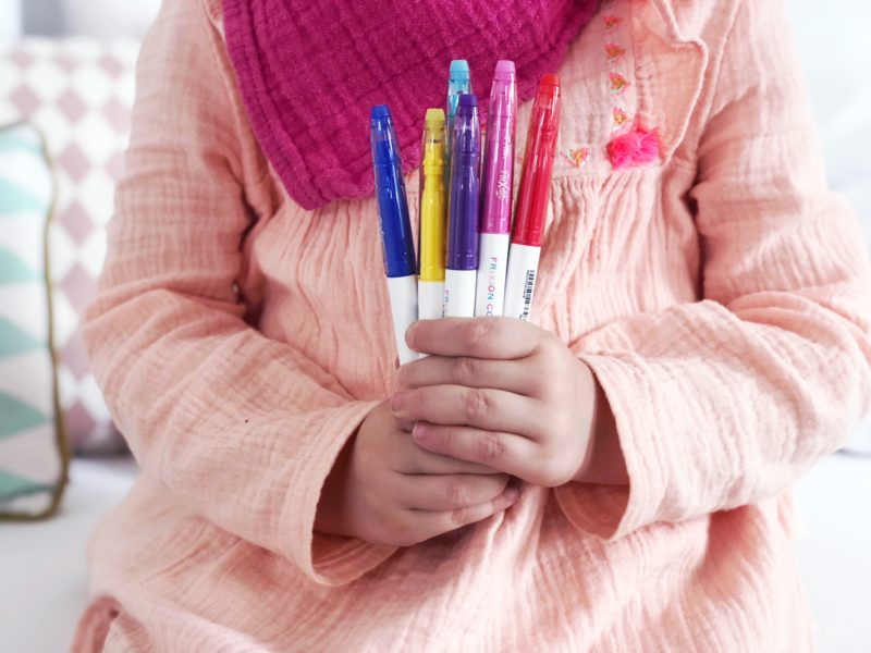 Filzstifte radierbar: FriXion Colors und geheime Geburtstagskarten