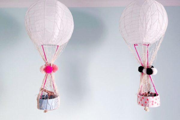 DIY basteln heißluftballon