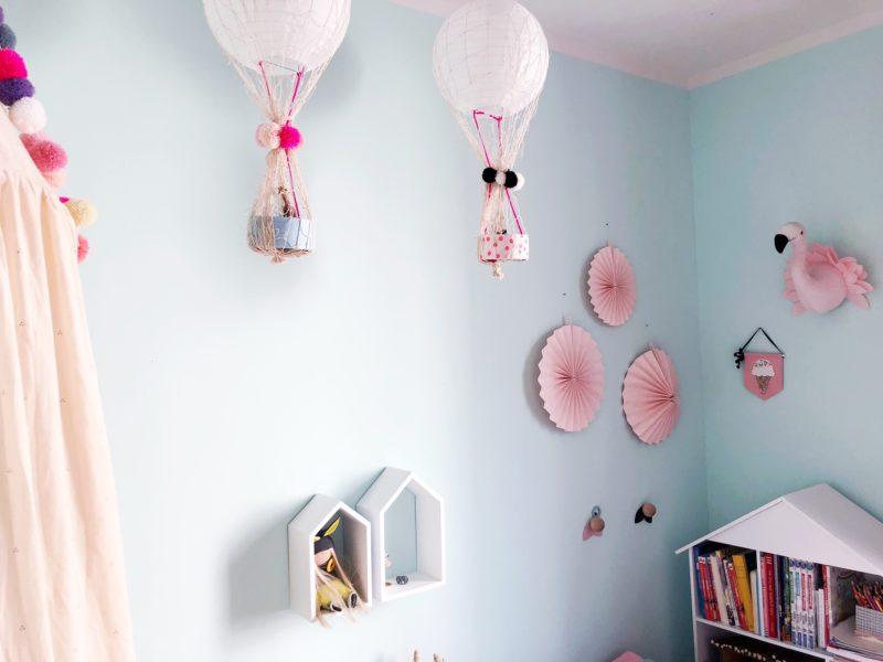 DIY Heißluftballon basteln fürs Kinderzimmer | MiniMenschlein.de ♡