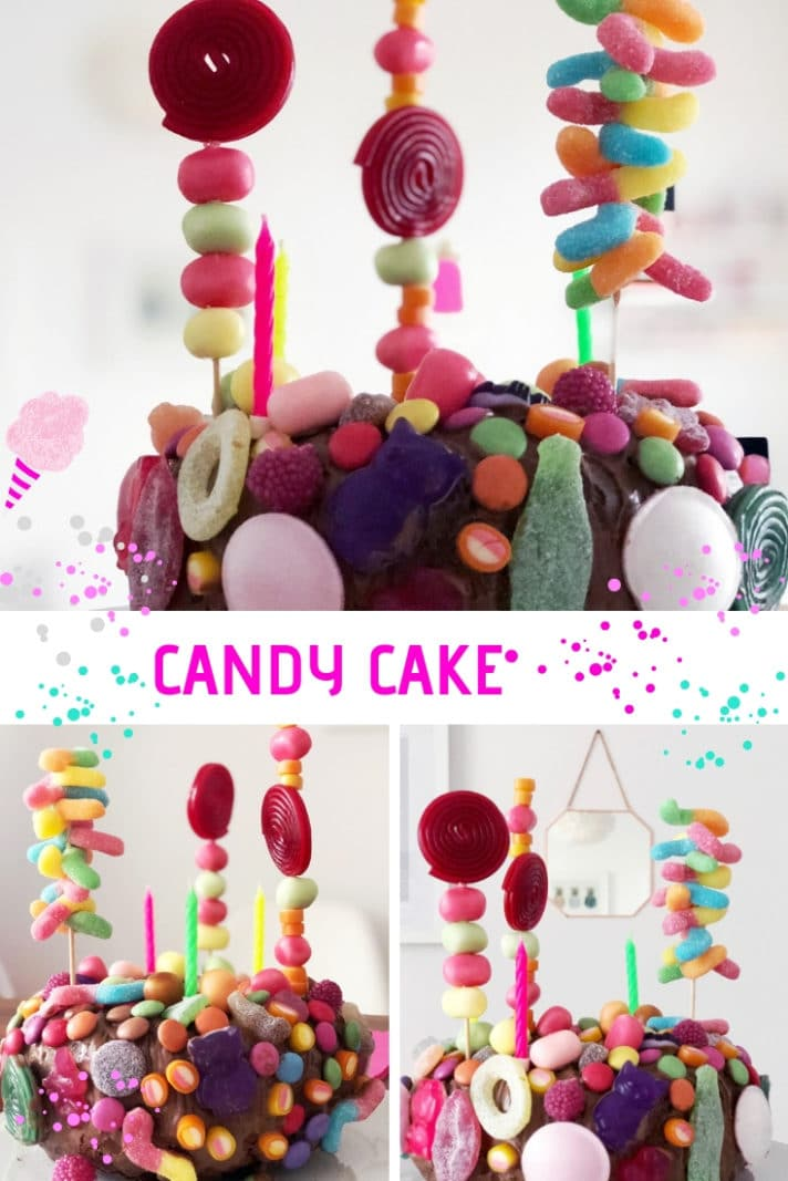 candy cake torte