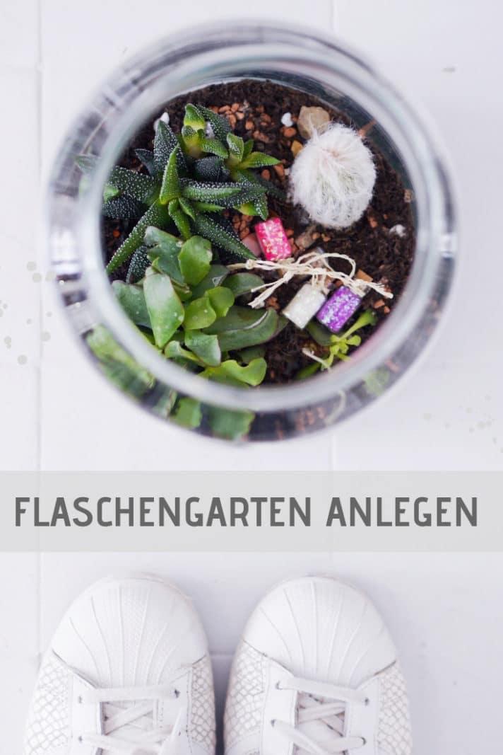 flaschengarten anlegen
