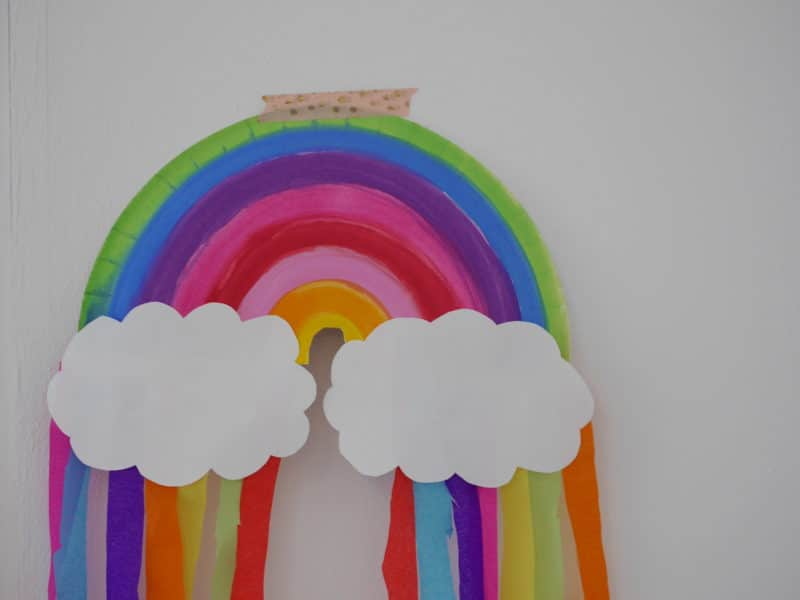 regenbogen bilder malen