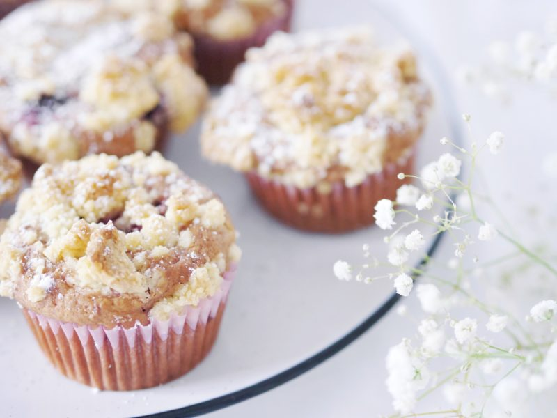 himbeer muffins