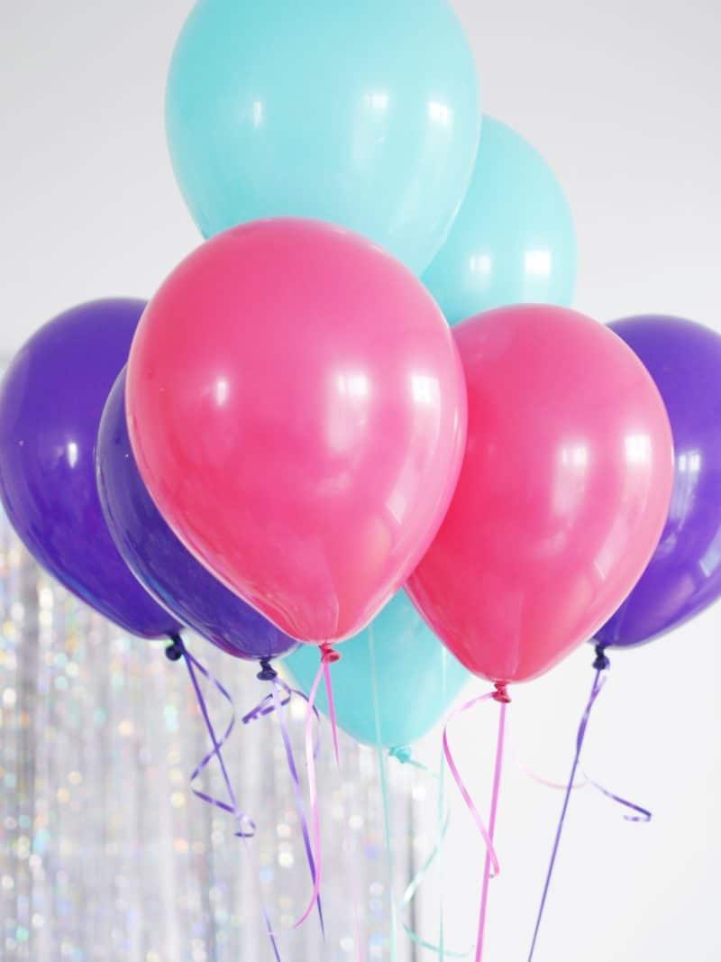 mermaid luftballons