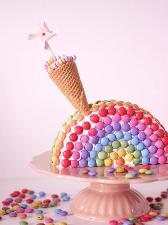 regenbogenkuchen einfach