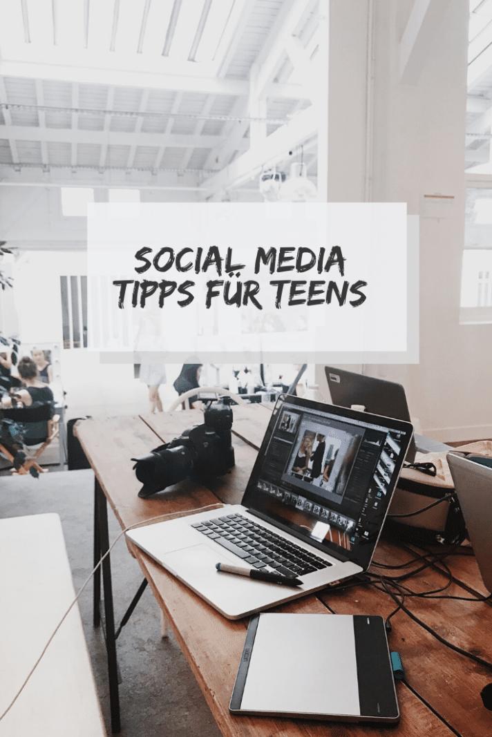 social media tipps teens