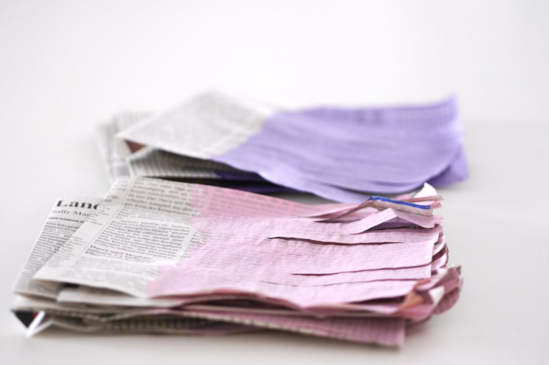 papiergirlande basteln