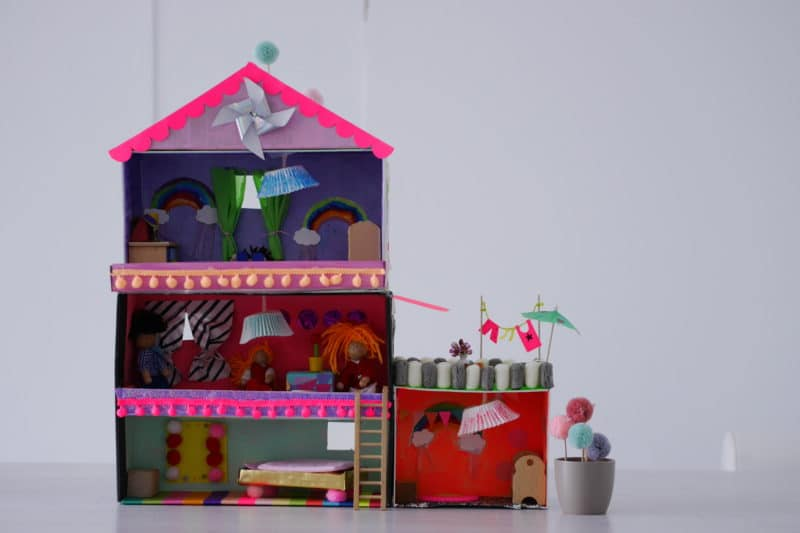 Upcycling Puppenhaus