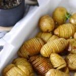 fächerkartoffeln knoblauch