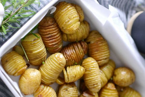 fächerkartoffeln mit knoblauch