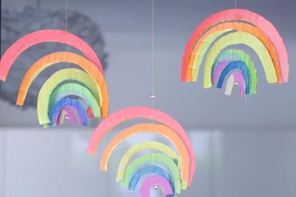 regenbogen fensterdeko