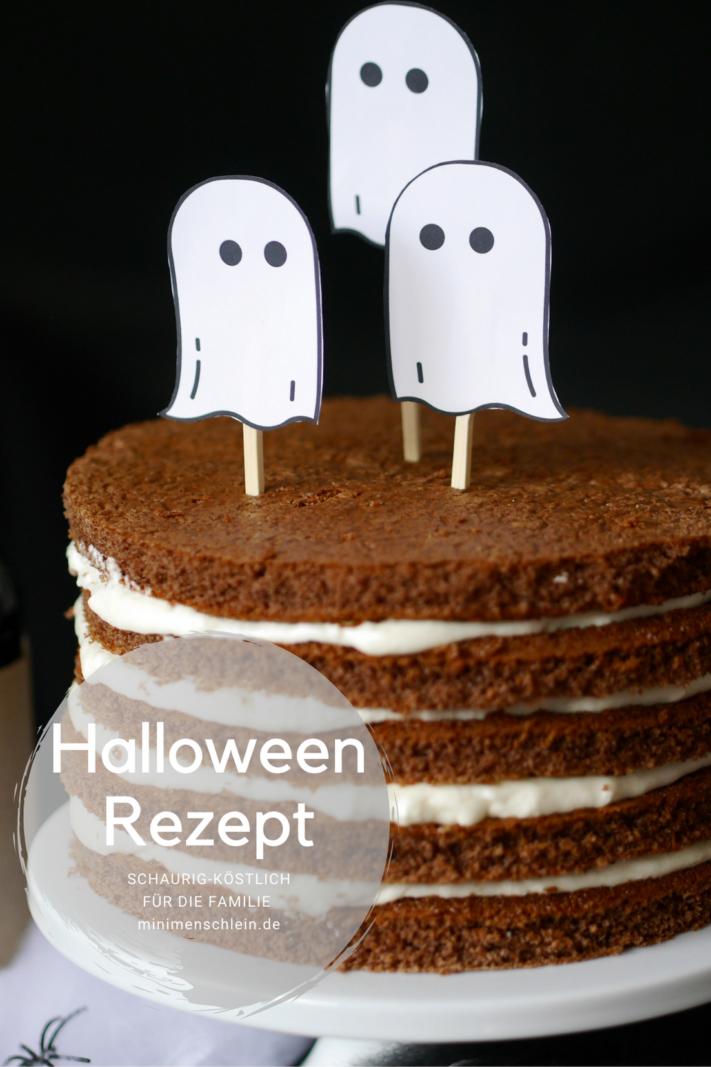 Geistertorte Rezept für Halloween