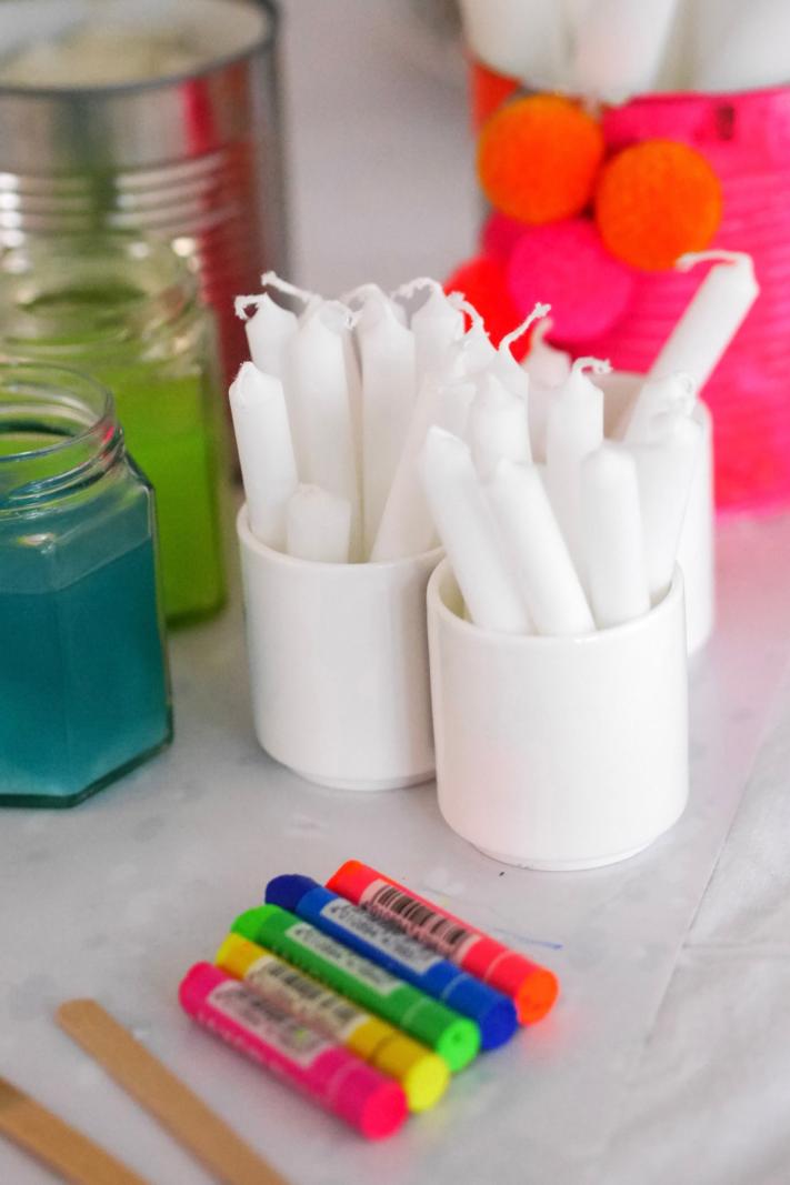 Kerzen färben: was braucht man dazu?