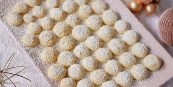 Rezept für Mini Butterwölckchen leckere Plätzchen zu Weihnachten